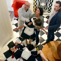 Tatort: Roomservice (ARD) / Nilam Farooq / Ulrike Folkerts / Andreas Hoppe / Peter Espeloer / Naima Fehrenbacher