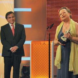 30. Verleihung des Bayerischen Filmpreises 2009 in München / Elmar Wepper und Ursula Werner Poster