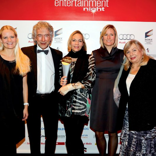 Entertainment Night 2013 / Video Champion 2013 / Grit Jolivet, Franz Woodtli, Stephanie Wagner, Tanja Goll und Uschi Reich Poster