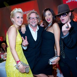 Entertainment Night 2011 / Video Champion / Verena Kerth, Martin Krug, Verona Pooth und Udo Lindenberg Poster