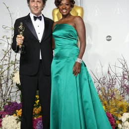 Paolo Sorrentino / Viola Davis / 86th Academy Awards 2014 / Oscar 2014 Poster