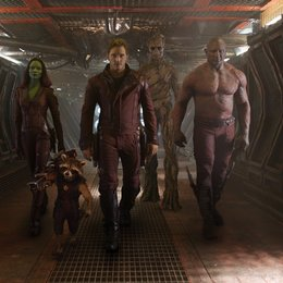 Guardians of the Galaxy / Zoe Saldana / Bradley Cooper / Chris Pratt / Vin Diesel / Dave Bautista Poster