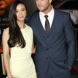 "Tang, Wei / Hemsworth, Chris / Premiere ""Blackhat"", Los Angeles Poster"