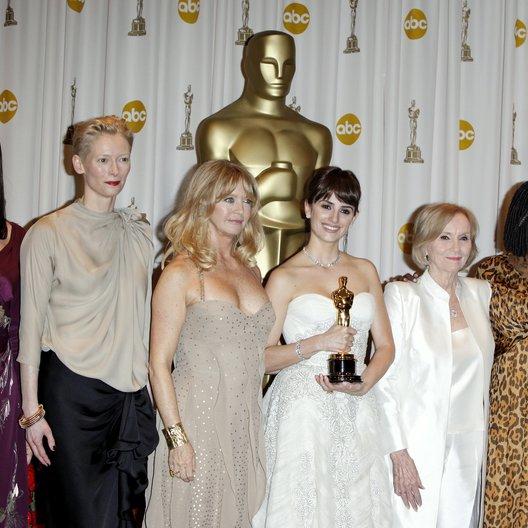 Huston, Anjelica / Swinton, Tilda / Hawn, Goldie / Cruz, Penélope / Saint, Eva Marie / Goldberg, Whoopi / Oscar 2009 / 81th Annual Academy Awards Poster