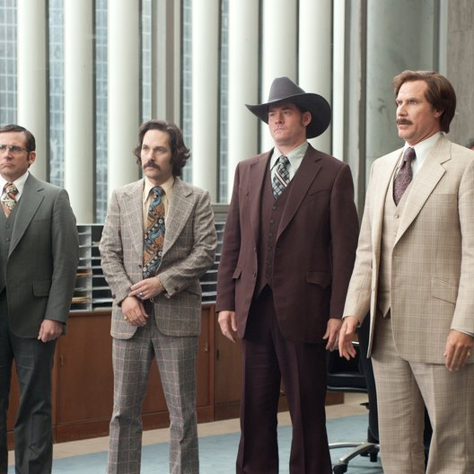 Anchorman - Die Legende kehrt zurück / Steve Carell / Paul Rudd / David Koechner / Will Ferrell Poster