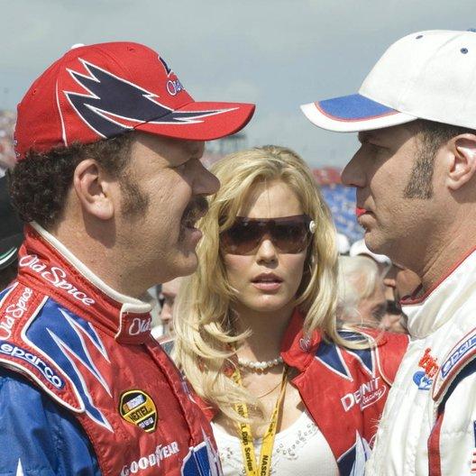 Ricky Bobby - König der Rennfahrer / John C. Reilly / Leslie Bibb / Will Ferrell Poster