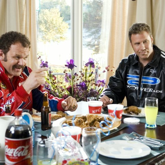 Ricky Bobby - König der Rennfahrer / John C. Reilly / Will Ferrell Poster