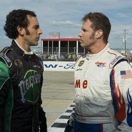 Ricky Bobby - König der Rennfahrer/ Sacha Baron Cohen / Will Ferrell Poster