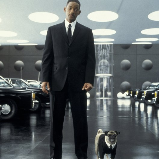 Men in Black 2 / Will Smith / Mops Frank / Men in Black II Collector's Box (Men in Black I + II) Poster
