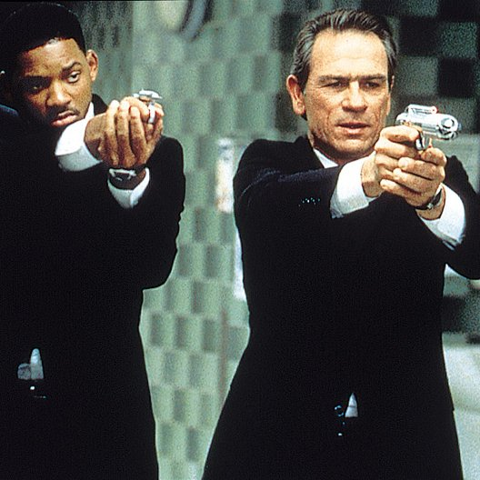 Men in Black / Will Smith / Tommy Lee Jones Poster