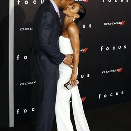 "Smith, Will / Pinkett Smith, Jada / Premiere ""Focus"", Hollywood Poster"