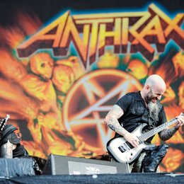 Wacken 3D - Der Film / Wacken 3D - Louder than Hell / Scott Ian mit Anthrax Poster
