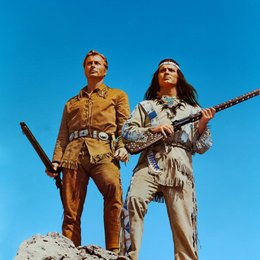 Karl May Box III - Winnetou reitet wieder / Winnetou I / Lex Barker Poster