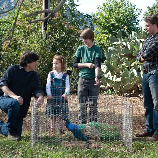 Wir kaufen einen Zoo / Set / Cameron Crowe / Maggie Elizabeth Jones / Colin Ford / Matt Damon