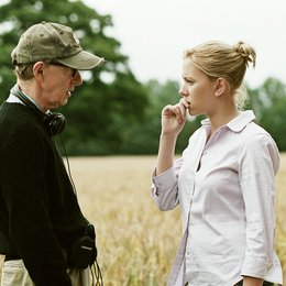 "Woody Allen: A Documentary / Woody Allen / Scarlett Johansson / Set ""Match Point"" Poster"