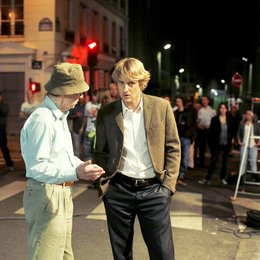 "Woody Allen: A Documentary / Owen Wilson / Set ""Midnight in Paris"" Poster"