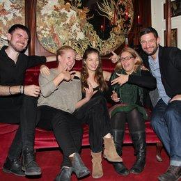 Yvonne Catterfeld in München / Thomas Thyssen, Franziska Hohmann), Yvonne Catterfeld, Claudia Schwippert, Teoman Sayim (v.l.)
