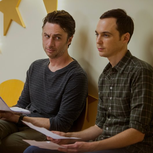 Wish I Was Here / Zach Braff / Jim Parsons Poster