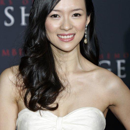 """Zhang Ziyi / Premiere von """"Die Geisha"""" Poster"""
