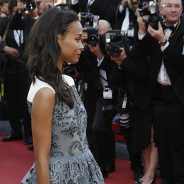 Saldana, Zoe / 66. Internationale Filmfestspiele von Cannes 2013 Poster