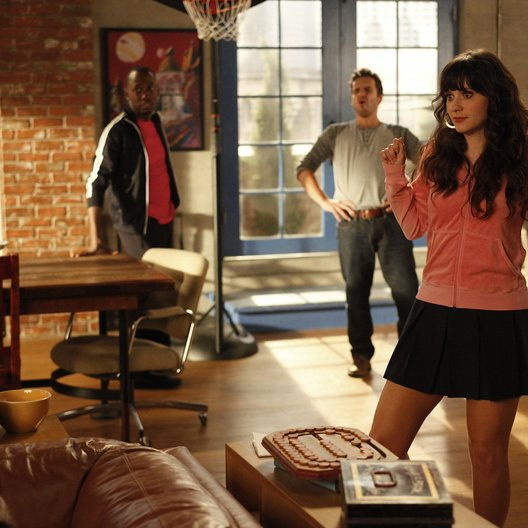 New Girl / Zooey Deschanel / Lamorne Morris / Jake M. Johnson
