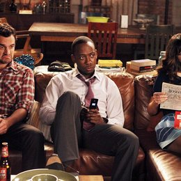 New Girl / Zooey Deschanel / Lamorne Morris / Jake M. Johnson Poster