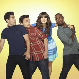 New Girl / Zooey Deschanel / Lamorne Morris / Max Greenfield / Jake M. Johnson