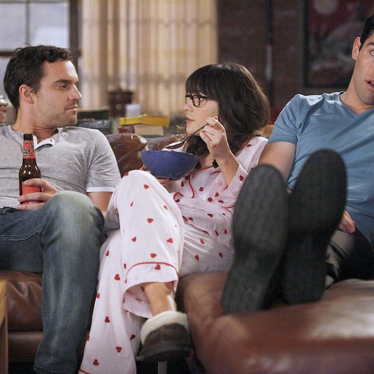 New Girl / Zooey Deschanel / Max Greenfield / Jake M. Johnson