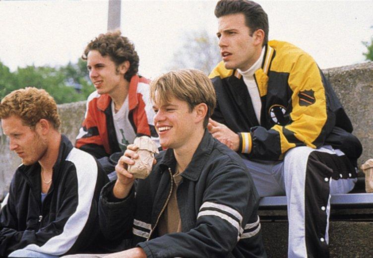 """Auftritt als beste Freund: Ben Affleck und matt Damon in ihrem Oscar-Erfolg """"Good Will Hunting"""" (1997) © Scotia (Buena Vista)"""