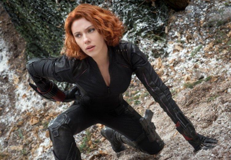 """Scarlett Johansson in einer actionreichen Rolle als Black Widow in """"Avengers: Age of Ultron """" (2015) © Walt Disney"""