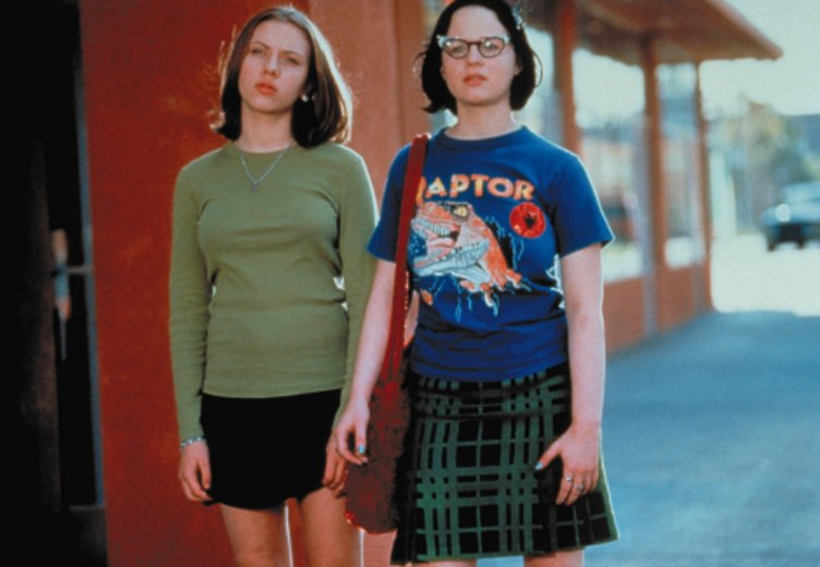 "Scarlett Johansson und Thora Birch in ""Ghost World"" © Advanced (Filmwelt)"