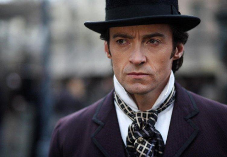 """Hugh jackman als vom Ergeiz zerfressener Zauberer in """"The Prestige"""" (2009) © Warner"""