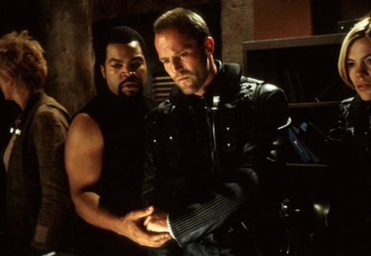 Jason Statham in eienr ersten, eher trashigen Rolle in John Carpenter's Ghosts of Mars (2001) © Columbia TriStar