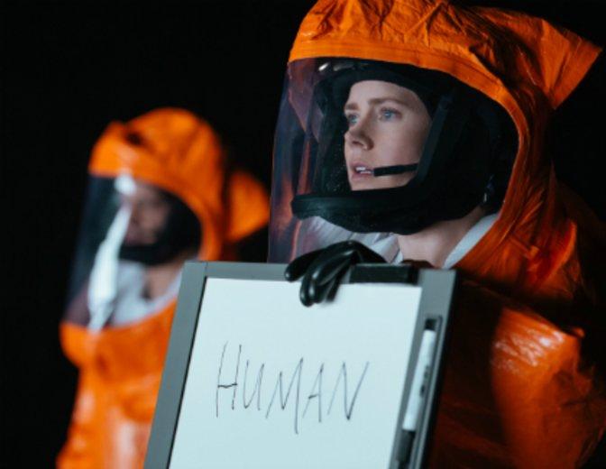 """Beim Versuch der Kontaktaufnahme in """"Arrival"""" © Sony"""
