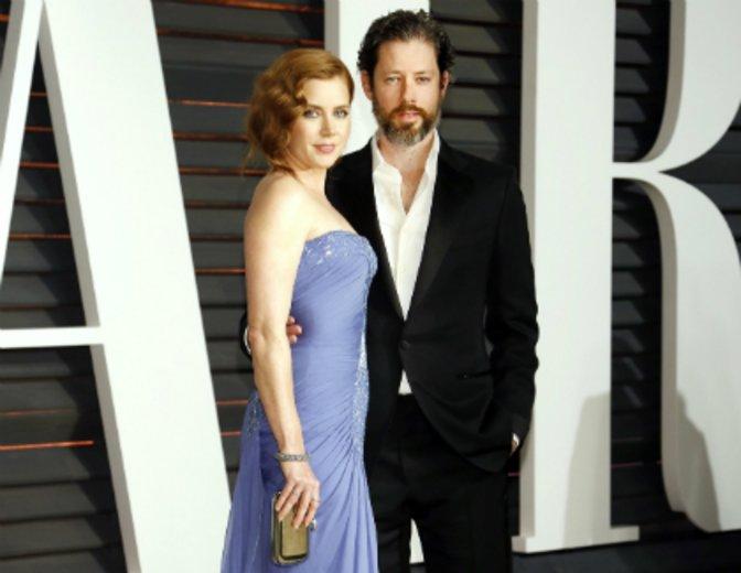 Mit Ehemann Darren Le Gallo auf der Oscar-Party © Kurt Krieger