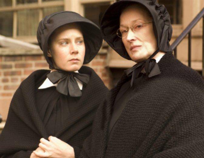 """Gemeinsam mit Granddame Meryl Streep in """"Glaubensfrage"""" © Miramax / Buena Vista"""