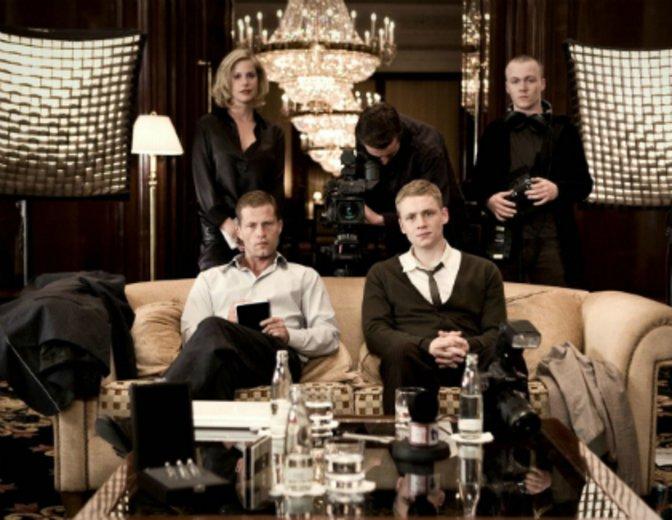"""Til Schweiger und Matthias Schweighöfer begeistern die Millionen in """"Keinohrhasen"""" © Warner"""