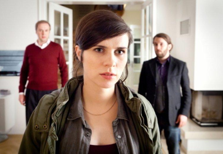 """Nora Tschirner als """"Tatort""""-Kommissarin in""""Die fette Hoppe"""" (2013) © MDR/Andreas Wünschirs"""