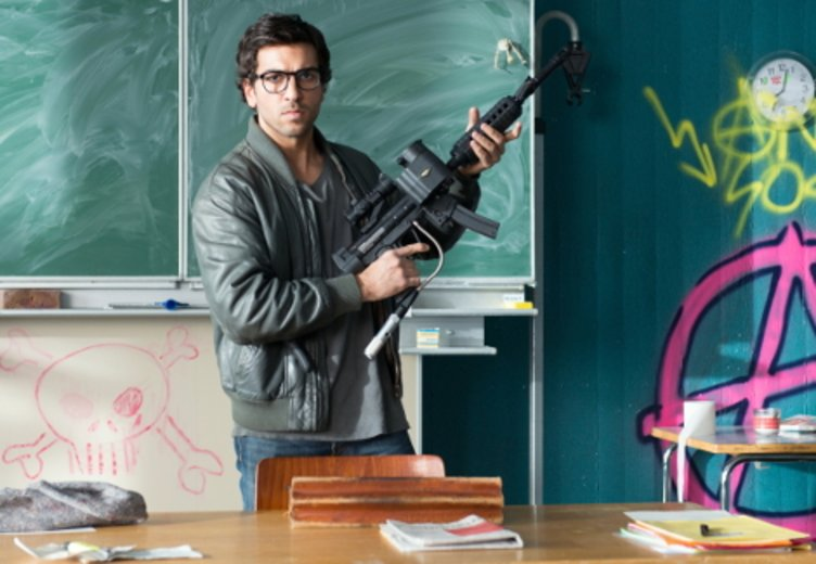 """Elyas M'Barek in """"Fack Ju Göhte"""" © Constantin Film Verleih"""
