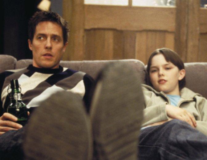 """Überzeugt an der Seite von Hugh Grant in """"About a Boy"""" © Universal"""