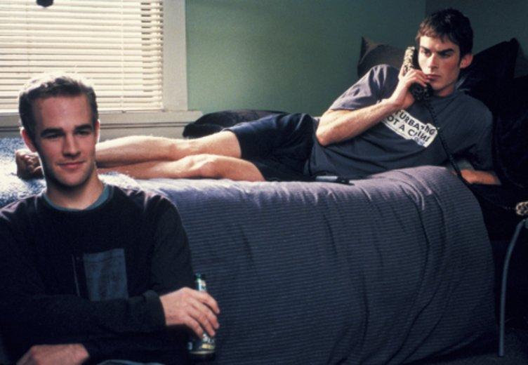 """Ian Somerhalder und James van Der Beek in """"Die regeln des Spiels"""" (2002) © Concorde"""