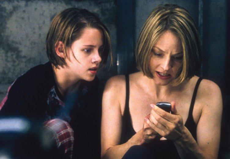 """Kristen Stewart und Jodie Foster in dem Thriller """"Panic Room"""" (1990) © Columbia TriStar"""