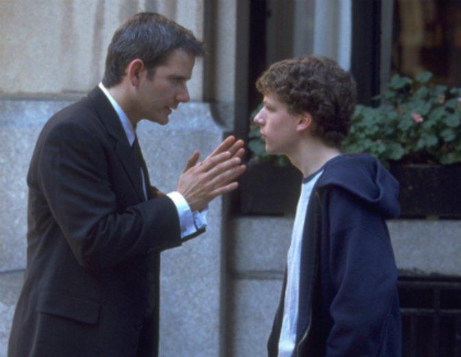 """Sein Filmdebüt gibt Eisenberg in """"Sex für Anfänger"""" © Optimum Home Releasing"""