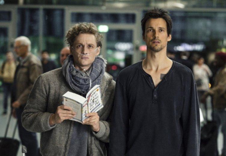 """Florian David Fitz und Matthias Schweighöfer in """"Der geilste Tag"""" 2016 © Warner"""