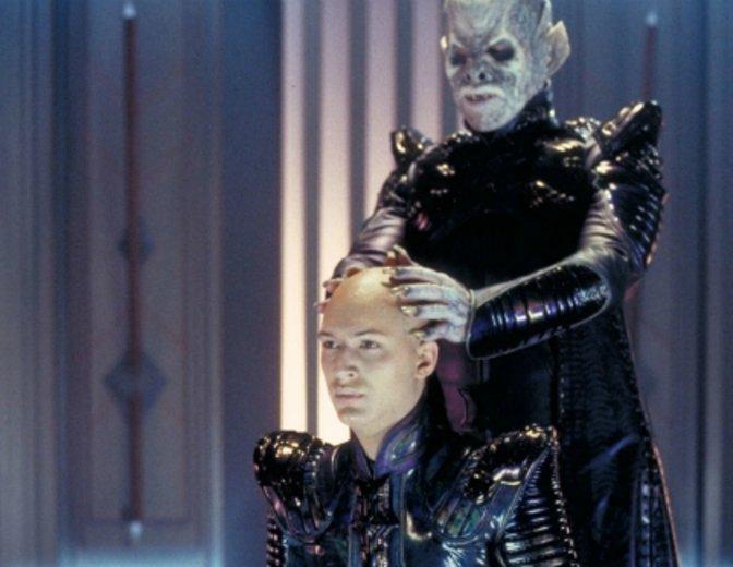 """Tom Hardy als Bösewicht Shinzon in """"Star Trek: Nemesis"""" © Paramount"""