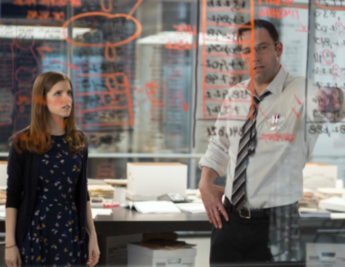"Mit Ben Affleck in ""The Accountant"" © Warner"