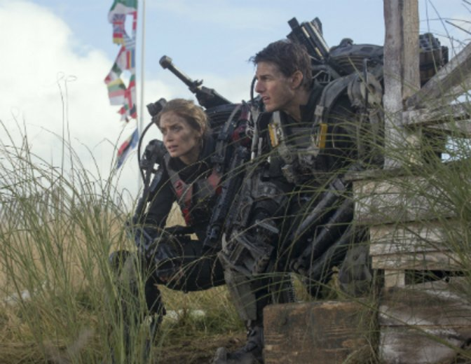 "Im Actionkracher ""Edge of Tomorrow"" trainiert sie Tom Cruise. © Warner"