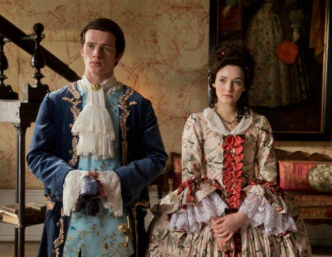 """Gideon und Gwen in """"Rubinrot"""" © Concorde"""