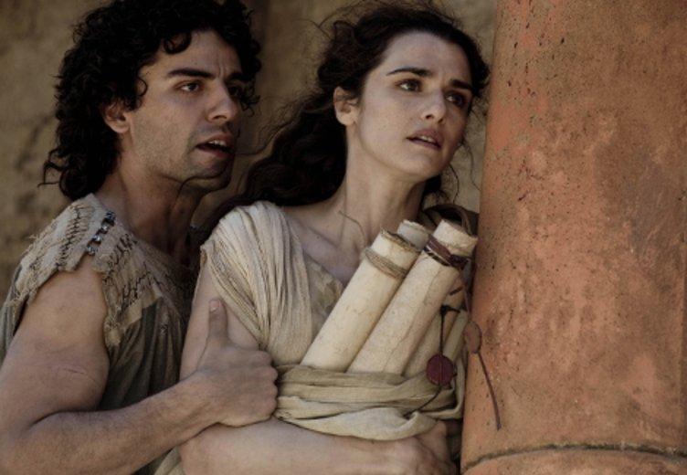 """Oscar Isaac und Rachel Weisz in """"Agora - Die Säulen des Himmels"""" (2009) © Tobis"""