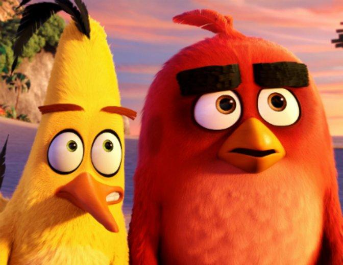 """Der gelbe Folge Chuck wird in """"Angry Birds - der Film"""" (2016) von Josh Gad vertont © Sony"""